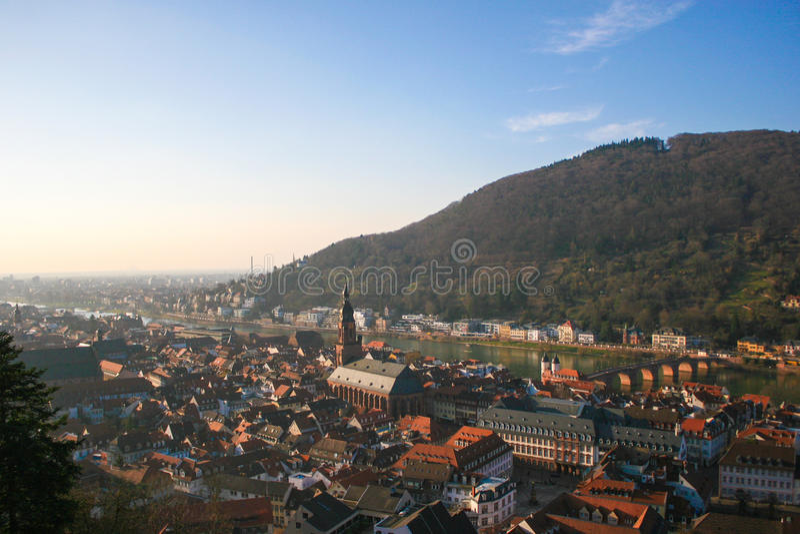 Download Heidelberg Castle In Germany Stock Photo - Image of heidleberg, river: 39506248