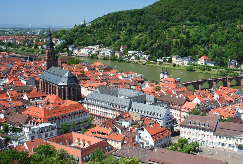 Heidelberg, Deutschland lizenzfreies stockbild