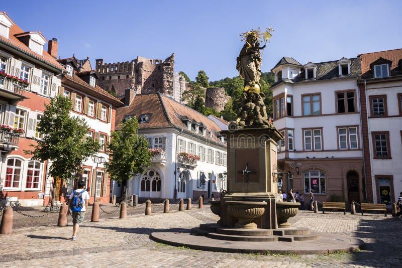 Heidelberg, Duitsland royalty-vrije stock afbeelding