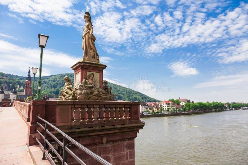 Heidelberg en Allemagne images libres de droits