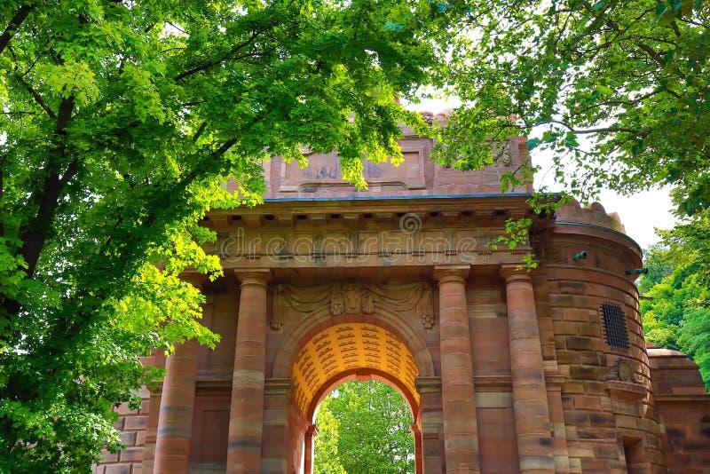 Heidelberg est une ville allemande photo libre de droits