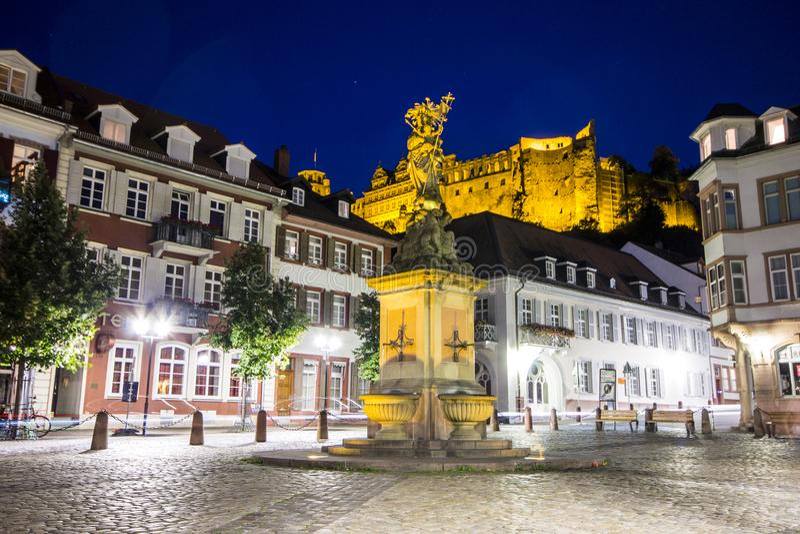 Heidelberg german obrazy stock
