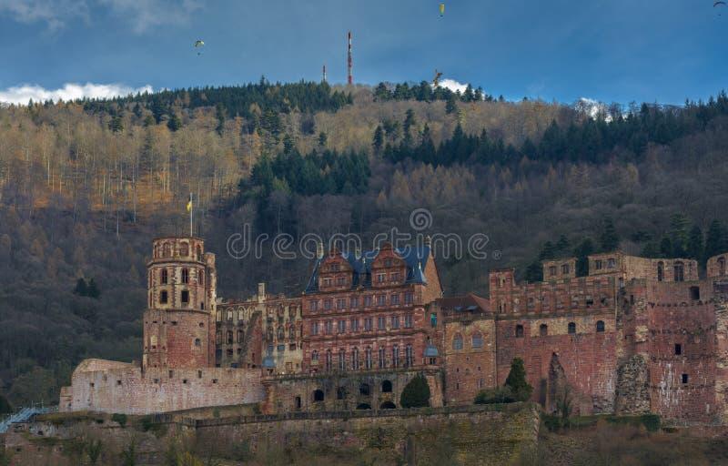 Heidelberg kasztel, Baden-Wurttemberg, Niemcy zdjęcia stock