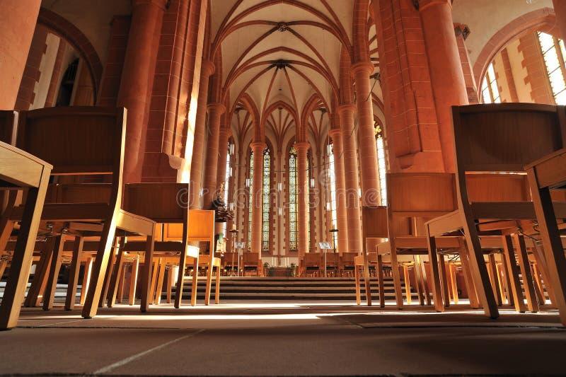 heidelberg kościelny duch święty wewnętrzny obraz royalty free