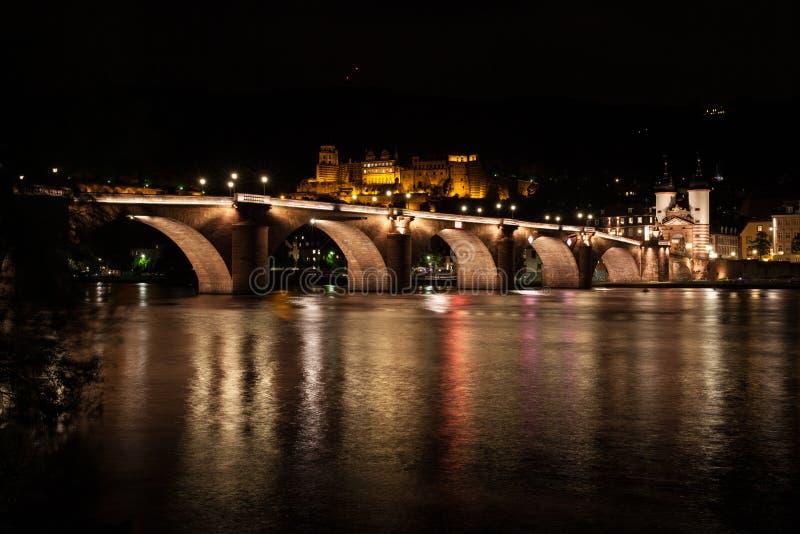 Heidelberg old bridge stock photography
