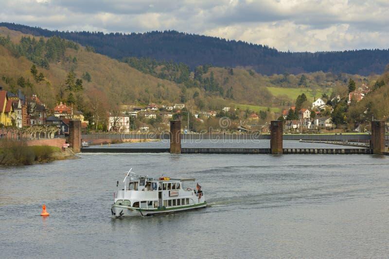 Heidelberg pejzaż miejski, Niemcy obraz stock