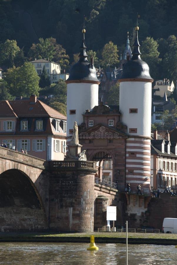 Heidelberg romántica foto de archivo libre de regalías