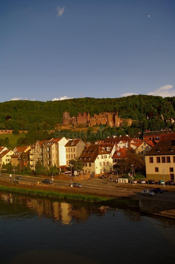 Heidelberger Schloss, château, été 2010 images stock