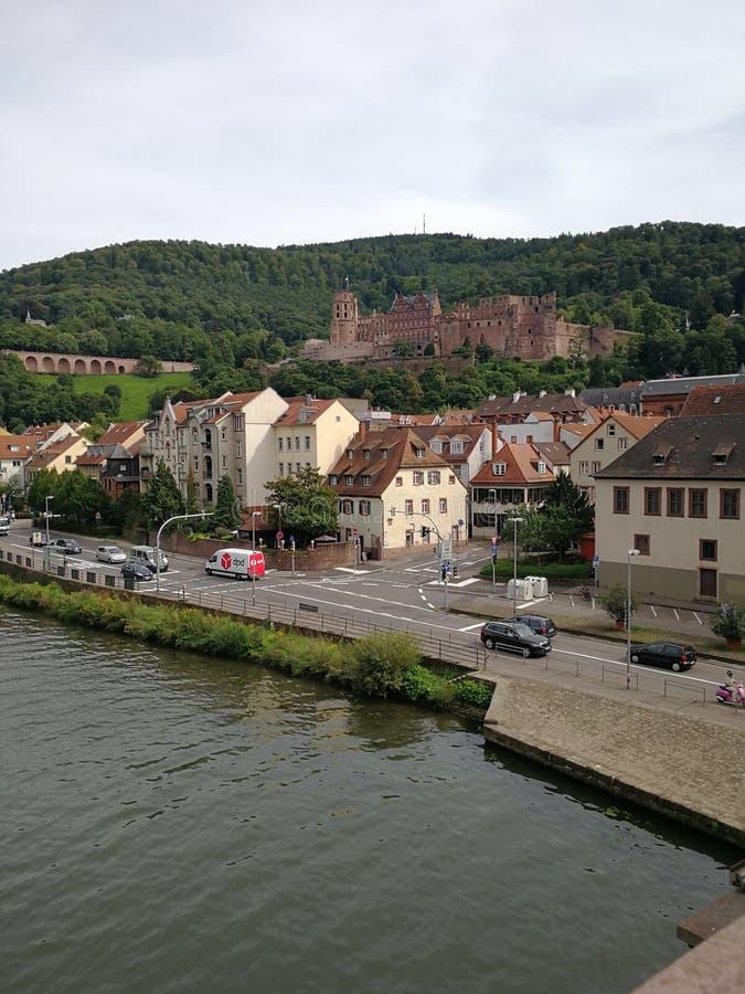 Heidelberger Schloss, kasteel van Heidelberg, Duitsland stock foto