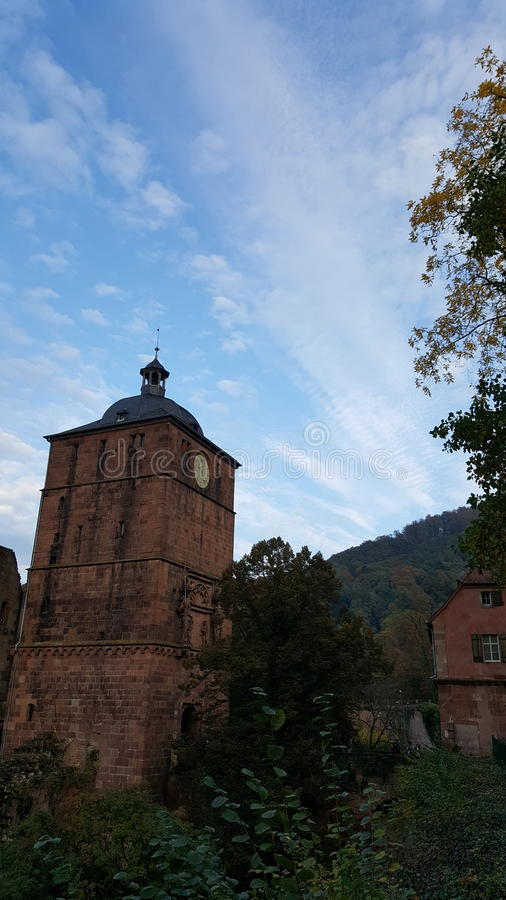 Heidelberger Schloss, Niemcy fotografia stock
