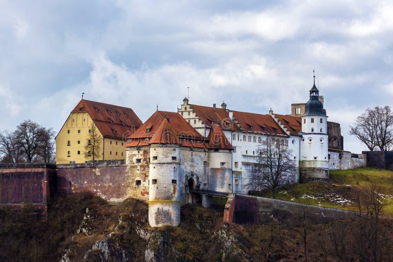 Heidenheim um der Brenz, Schloss Hellenstein imagens de stock