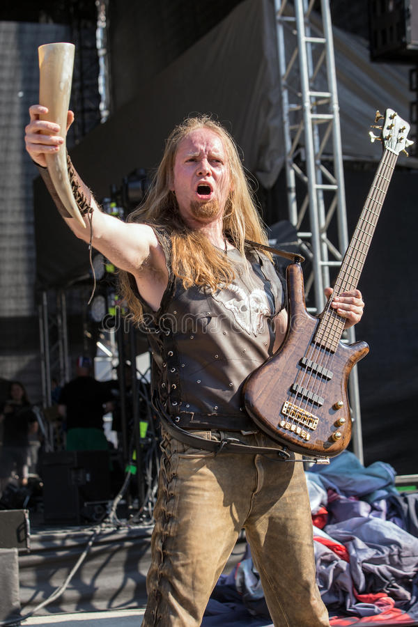 Heidevolk at Metalfest 2015 stock photography