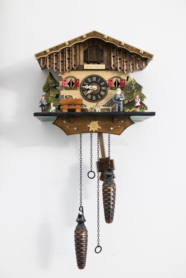 Heidi House Cuckoo Clock imagenes de archivo