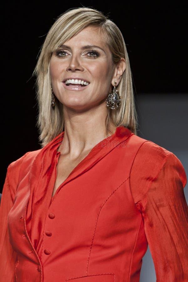 Heidi Klum immagine stock libera da diritti
