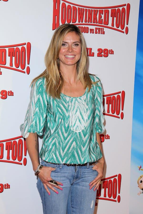 Heidi Klum fotografie stock