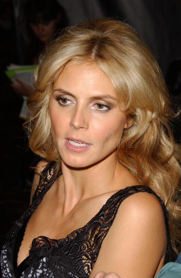 Download Heidi Klum,Victoria's Secret Editorial Stock Image - Image: 24569649