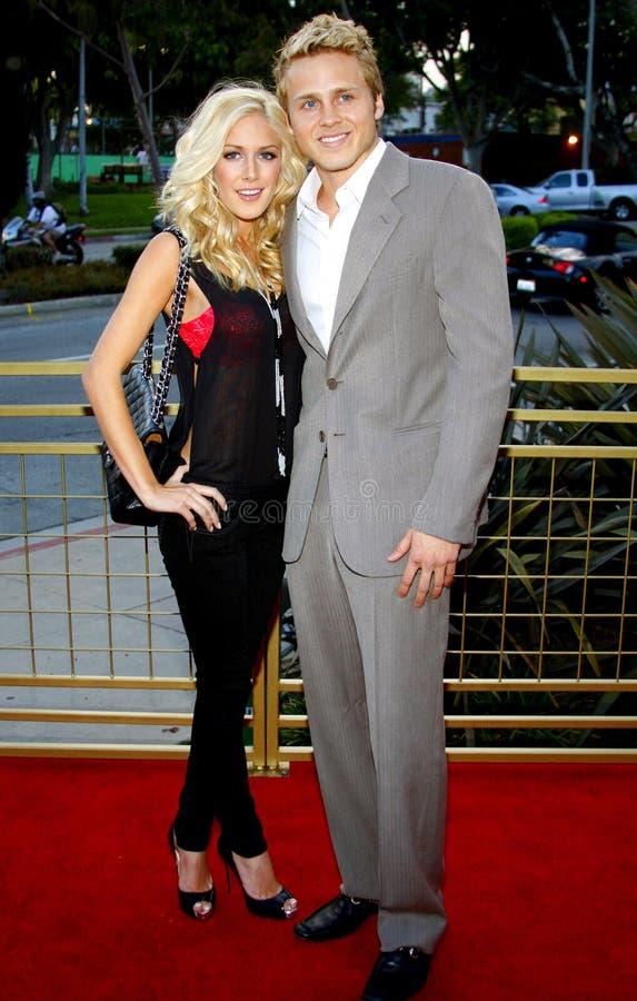 Heidi Montag и Спенсер Pratt стоковые фото