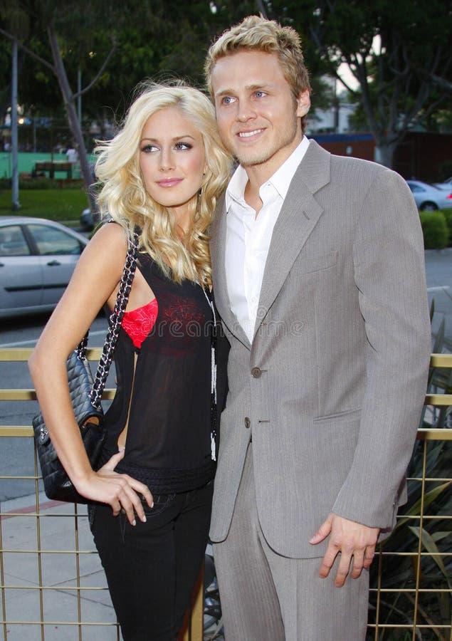 Heidi Montag et Spencer Pratt image stock
