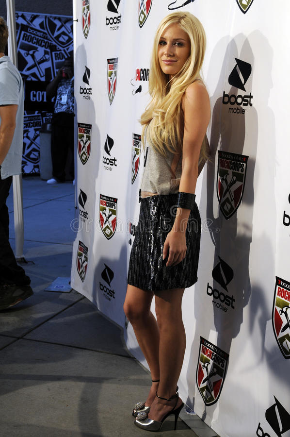 Download Heidi Montag On The Red Carpet. Editorial Image - Image: 12676065