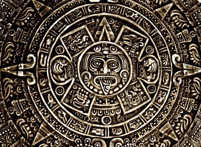 Heidnische Verzierung ein Sonnestein stockfotografie