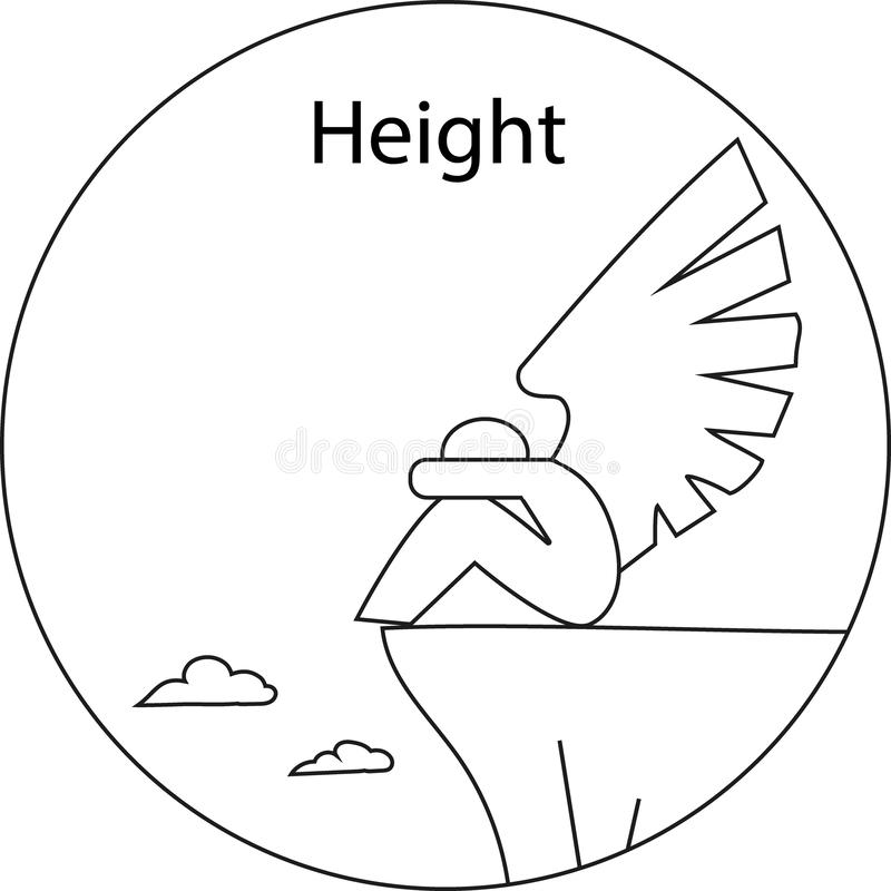 Height royalty free stock image