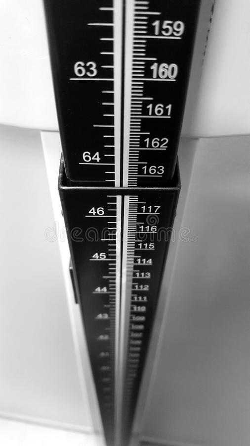 Height Measurement Stick stock images