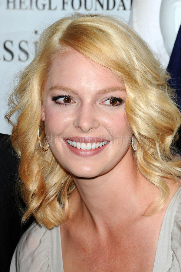 heigl katherine royaltyfria foton