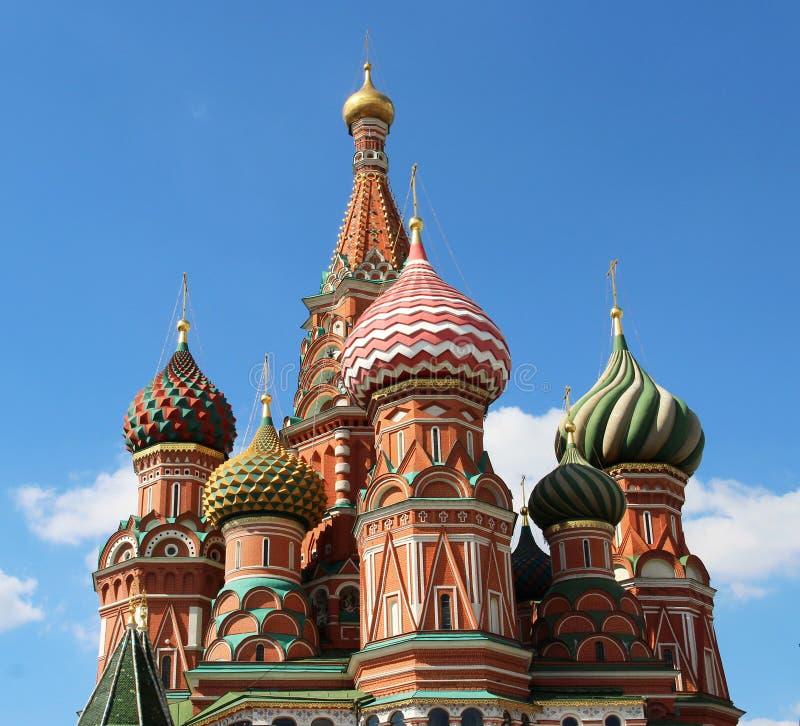 Heilig-Basil Cathedral-Kuppel, Moskau, Russland stockfotografie
