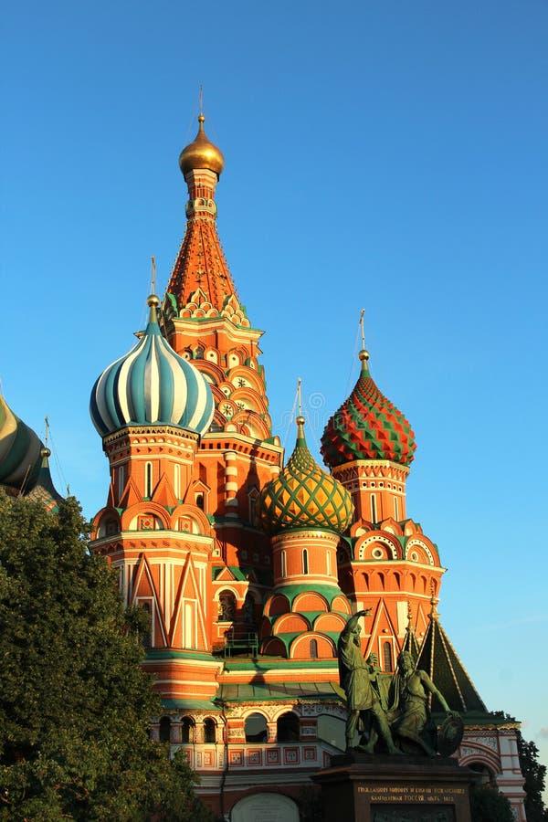 Heilig-Basil Cathedral-Kuppel, Moskau, Russland stockbilder