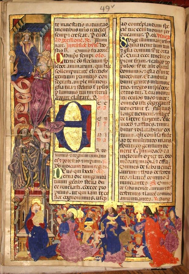 Heilig Bijbelboek stock foto's