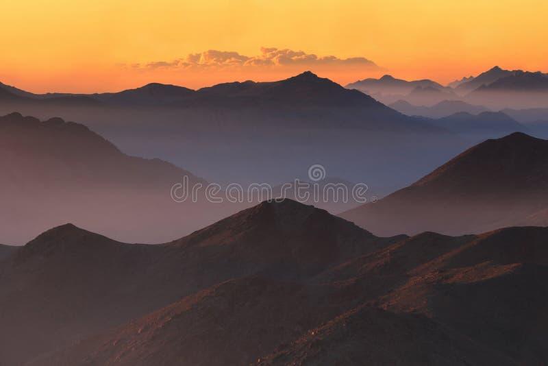 Heilig-Catherine-Sonnenaufgang stockbild