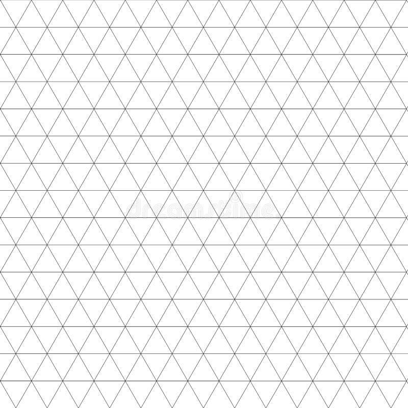 Heilig grafisch deco hexagon patroon van het meetkundenet stock illustratie