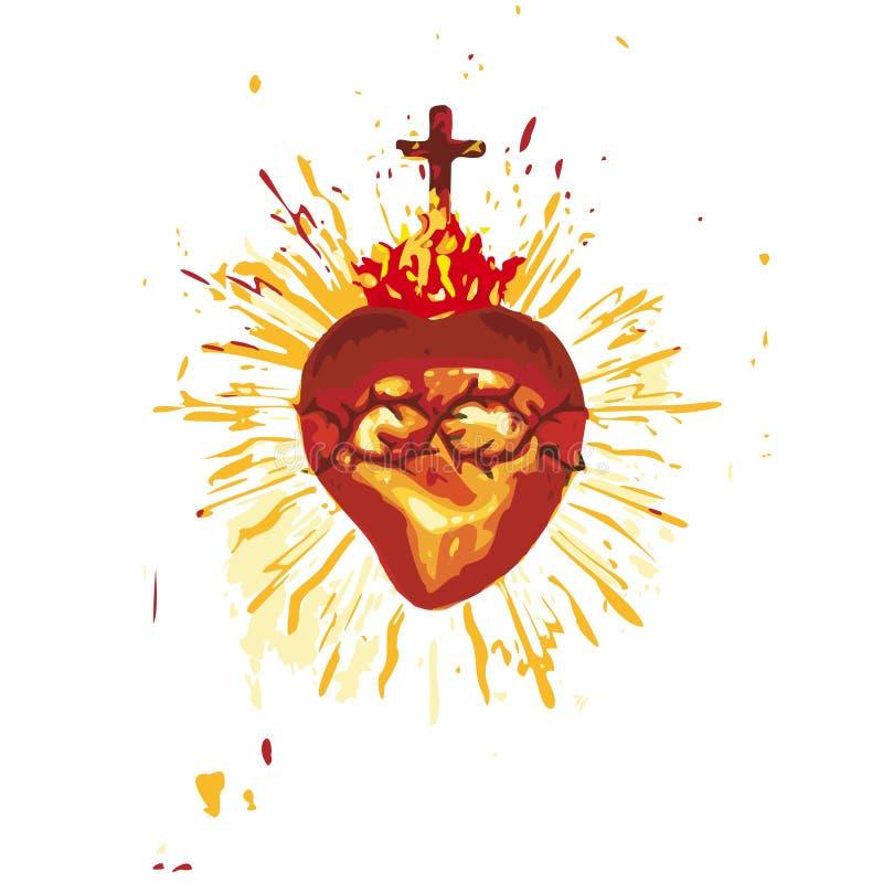 Heilig Hart (vector) vector illustratie
