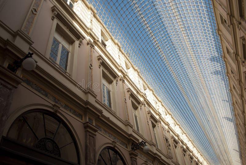 Heilig-Hubert-Galerie in Brüssel (Belgien) lizenzfreie stockfotos