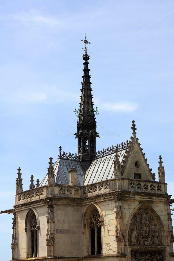 Heilig-Hubert-gotische Kapelle lizenzfreies stockbild