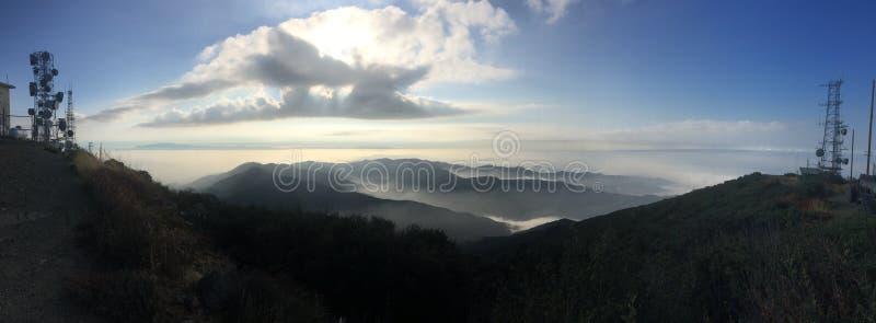 Heilig Jim Hiking Trail Silverado, ca Panoramische foto stock afbeelding