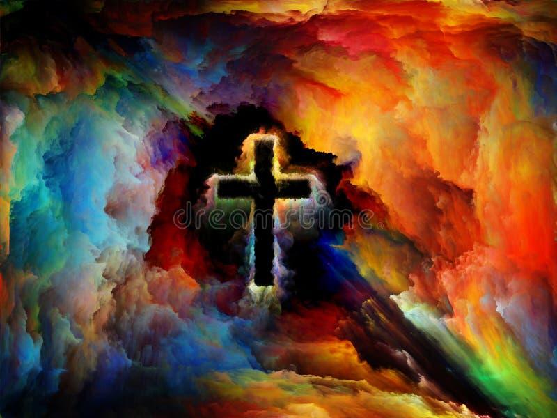 Heilig Kruis royalty-vrije illustratie