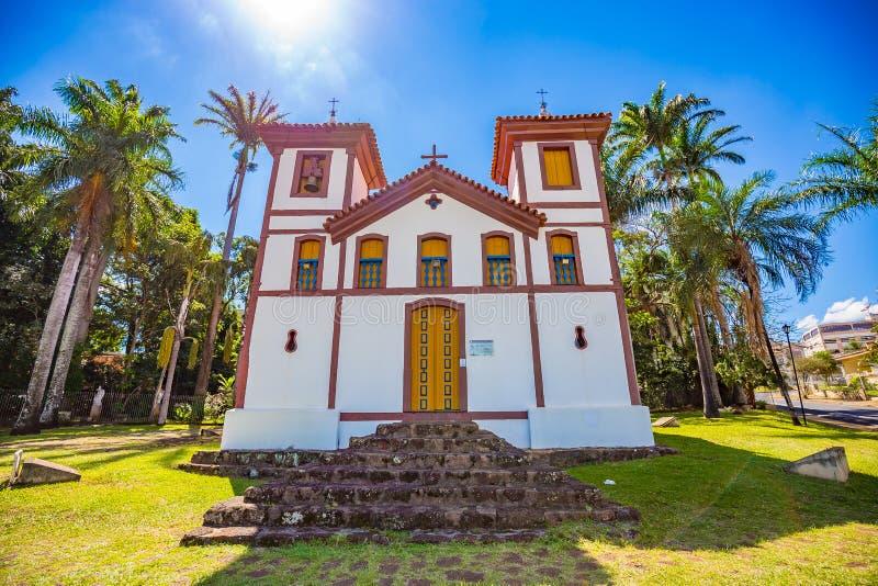 Heilig kunstmuseum Uberaba, Minas Gerais - Brazilië royalty-vrije stock afbeeldingen
