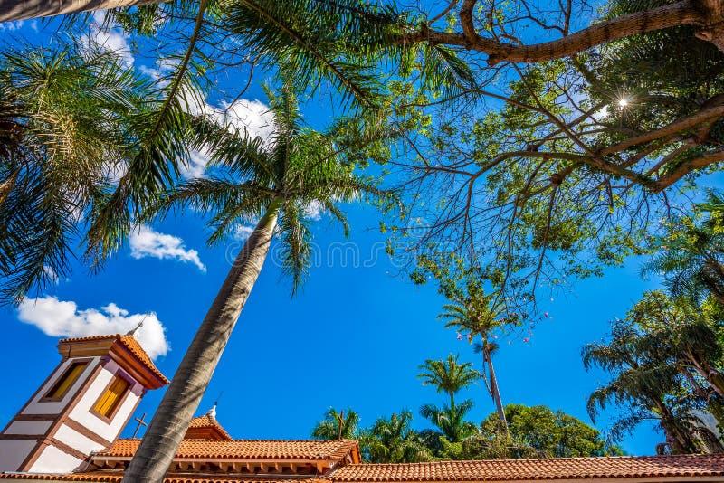 Heilig kunstmuseum Uberaba, Minas Gerais - Brazilië royalty-vrije stock fotografie