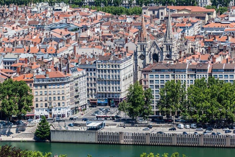 Heilig-Nizierkirche Lyon Frankreich lizenzfreies stockfoto