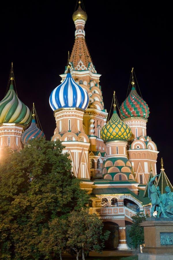 Heiligbasilikum bis zum Nacht stockbilder