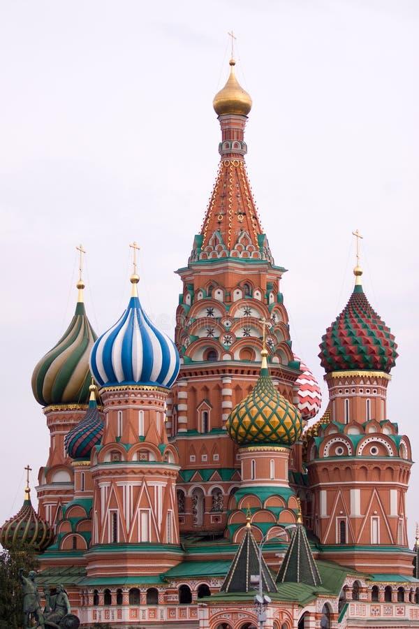 Heiligbasilikum in Moskau lizenzfreie stockfotos
