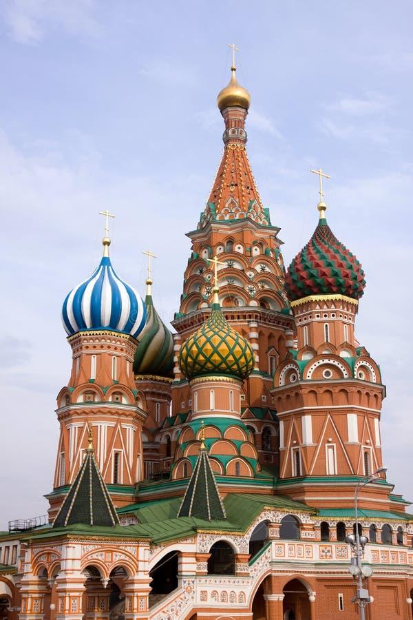 Heiligbasilikum in Moskau stockbild