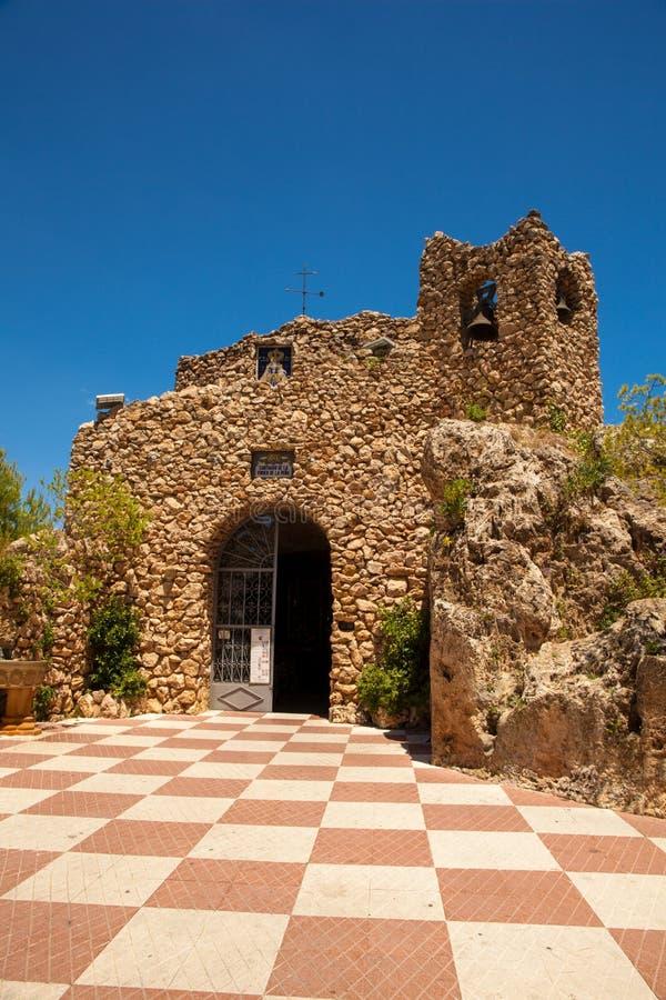 Heiligdom aan Virgin van de Rots in Mijas royalty-vrije stock foto's