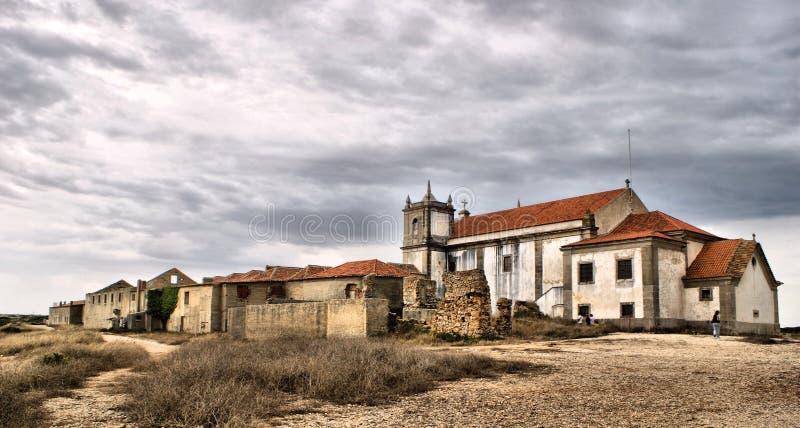 Heiligdom van Cabo Espichel royalty-vrije stock foto