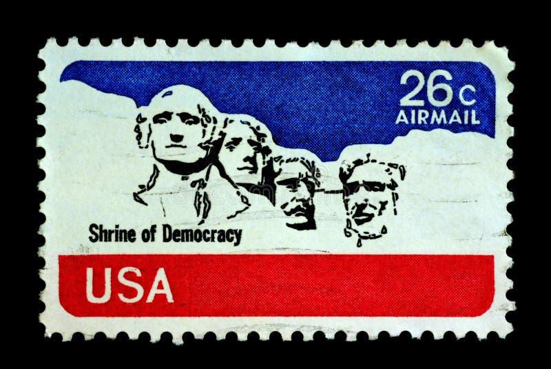 Heiligdom van Democratie stock afbeeldingen