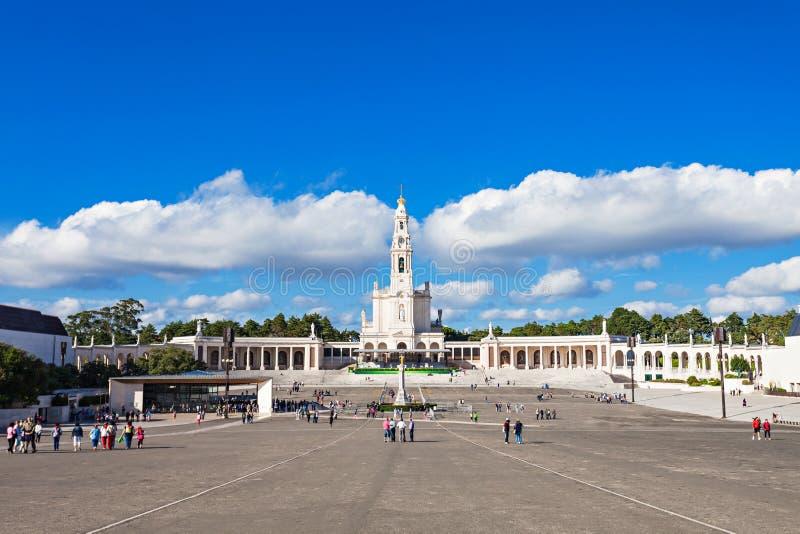 Heiligdom van Fatima royalty-vrije stock foto