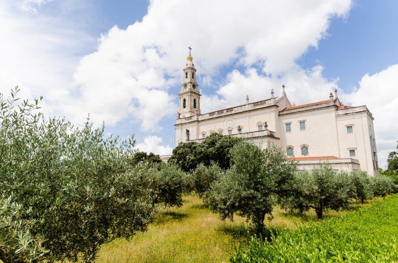 Heiligdom van Fatima stock afbeelding