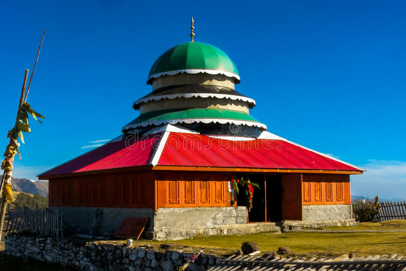 Heiligdom van Pir Chinasi in Muzafarabad, AJK, Pakistan royalty-vrije stock foto