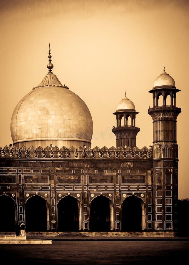 Heiligdom van Pir Chinasi in Muzafarabad, AJK, Pakistan stock afbeeldingen